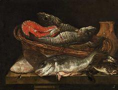 Date unknown - Beyeren, Abraham van - Fish still life