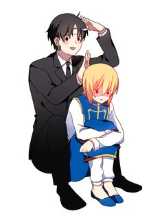 Kuroro/Chrollo and Kurapika