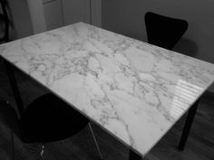carrera marble table - $425 (west portal / forest hill) Marble Tables, Forest Hill, Carrera, Portal, Interiors, Colour, Furniture, Home Decor, Marble End Tables