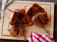 Spatchcocked Grilled Turkey Recipe | Food Network Kitchen | Food Network