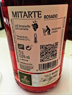 El Alma del Vino.: Bodegas Mitarte Rosado 2015