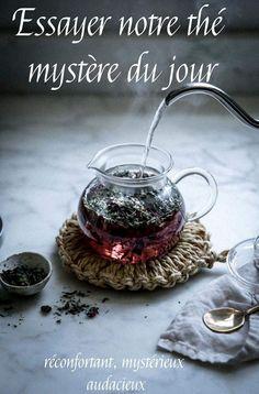 Unique seulement chez #tastea. #thé #mystère #bio www.tastea.ca