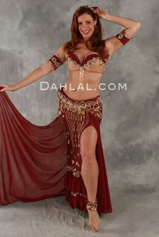 413b0d7b06aa ANDALUSIAN ROMANCE by Pharaonics of Egypt, Egyptian Belly Dance Costume,  Available for Custom Order
