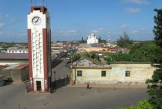 Clock tower in Diriamba. :) Went past this several times when I was in Nicaragua.