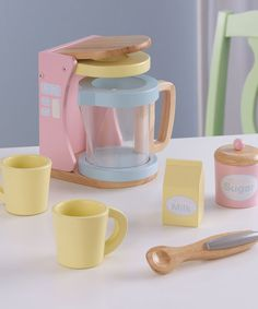 Take a look at the Coffee Set on #zulily today!