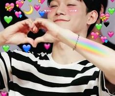 Shared by LOVE SHOT - EXO. Find images and videos about pink, kpop and blue on We Heart It - the app to get lost in what you love. Funny Kpop Memes, Exo Memes, Cute Memes, Meme Faces, Funny Faces, Mamamoo, K Pop, Baekhyun, Daily Exo
