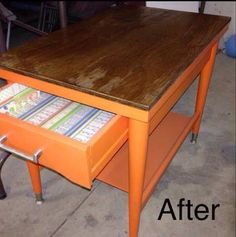Upcycle side table