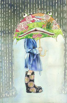 As ilustrações em aquarela de Daniel Mackie – BLCKDMNDS