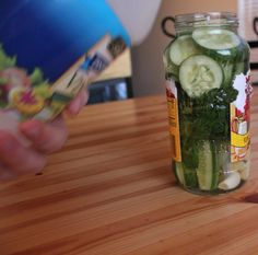 Weekend Pickles   •  Free tutorial with pictures on how to make a fruit & veg in under 20 minutes