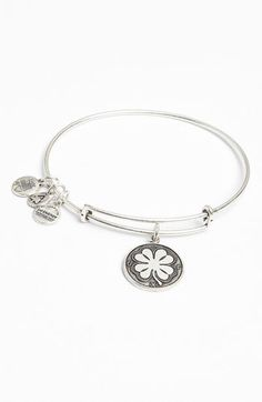 Alex and Ani 'Four Leaf Clover'...     $28.00