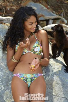 Chanel Iman Swimsuit Photos - Sports Illustrated Swimsuit 2014 - SI.com Photographed by Derek Kettela in Madagascar