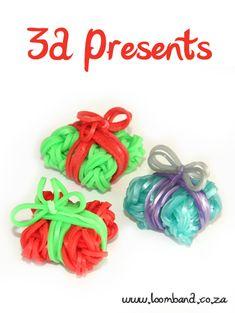 3D Present Box loom band tutorial http://loomband.co.za/3d-present-box-loom-band-tutorial/