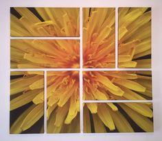"Jose Enrique ""Kike"" Hurtado Blanco  Yellow, 2012  Técnica: Fotografía, Impresión en Canvas Composición en 8 piezas  Medidas: 86 x 86 cms"