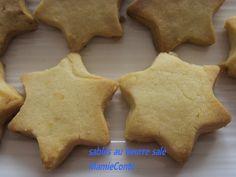 Recette Biscuits sablés au beurre salé - notée 2.8 sur 5 par 133 internautes