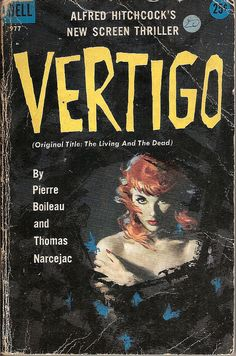Vertigo - Dell book cover by Covers etc, via Flickr