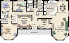 Gippslander 211 Floor Plan