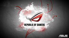 Asus RoG Desktop Background
