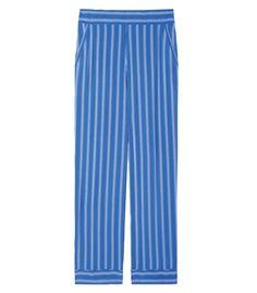Closed Blue Striped 'Ella' Pant