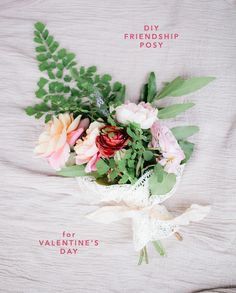 little Valentine's Day DIY for you from Soil & Stem and Select vendor Erin Kate: Valentine's day isn't just for lovers - it's a perfect time to....