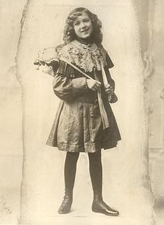 Young Mary Pickford