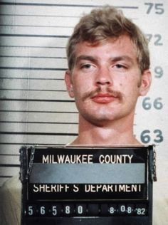 "While reading the story ""Rats in the Walls"" it made me think of Jeffrey Dahmer because of his past being a serial killer and eating some of his victims. Also being from Wisconsin made me think of him Jeffrey Dahmer, Celebrity Mugshots, Celebrity Biographies, Sheriff, Famous Serial Killers, Milwaukee County, Milwaukee Wisconsin, Psychopath, Criminal Minds"