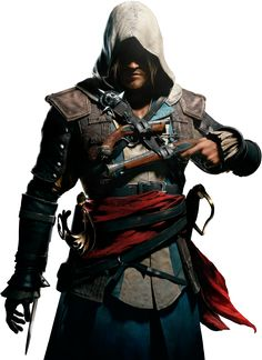 Assassin's Creed IV Black Flag 'Edward Kenway' by ivances @deviantART