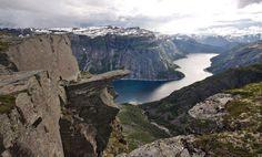 The Trolltunga, Fjord, Norway