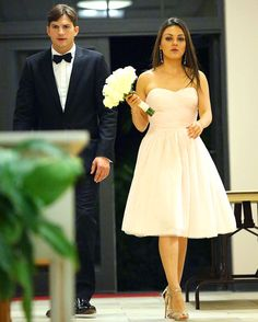 Mila Kunis, Ashton Kutcher Attend Her Brother's Wedding: Picture - Us Weekly