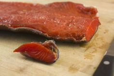 Bourbon and Brown Sugar Cured Salmon