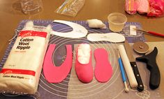 Cake decorating: Ballerina / ballet shoe tutorial