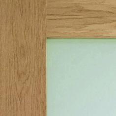 details shaker style for double door Architrave, Door Sets, Modern Door, Oak Doors, Safety Glass, Shaker Style, Double Doors, Frame, Home Decor