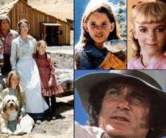 <p>La famille Ingalls: Charles, ses bretelles et sa hache, Caroline et ses tartes aux pommes, Marie,... - Visuel Press Agency