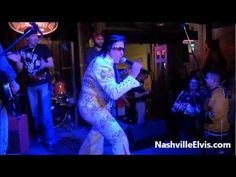 Nashville Elvis Impersonator Chuck Baril