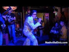 Nashville Elvis Impersonator Chuck Baril