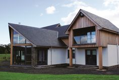 Timber Frame, Self Build Houses Images, Plans and Design Galleries Scotland & UK - Fleming Homes Timber Frame Scotland