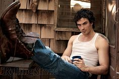 Another favorite Ian Somerhalder pic.