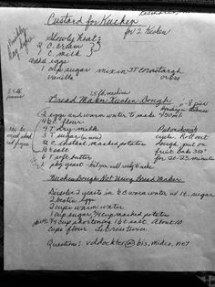 Kuchen Recipe from Germans from Russia group