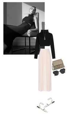 """""""Untitled #254"""" by rachelallegra ❤ liked on Polyvore featuring Valentino, Coast, Senso, Lucky Brand and Fendi"""