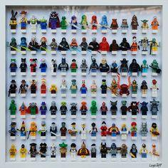 Un cadre pour exposer ses figurines Lego