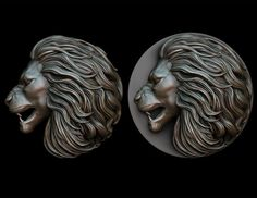 Lion pendant 2 - three versions | 3D Print Model