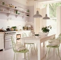 Shabby Chic Kitchen Tables : All about Shabby Chic Kitchens � Kitchen Design Ideas by Terese Vernita