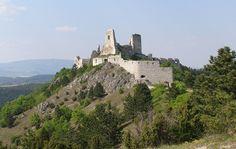 Čachtický hrad v plné kráse