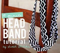 DIY head bands
