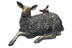 Sheep and Lamb by Stef Ottevanger, limited edition of 500. A beautiful representation of Cumbria and of countryside and farming life. Available to buy online, £250.  http://www.shopcreator.com/mall/yewtreebarngallery/