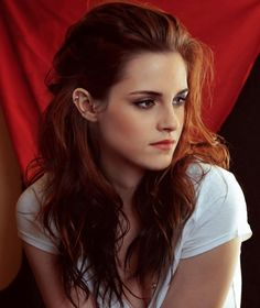 Is that Kristen Stewart!?!? It better not be, because this is being pinned to Emma watson