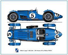 Talbot_Lago T26 GS 1950 Sports Car Racing, Sport Cars, Race Cars, Auto Racing, Vintage Racing, Vintage Cars, Antique Cars, Le Mans, Classic European Cars