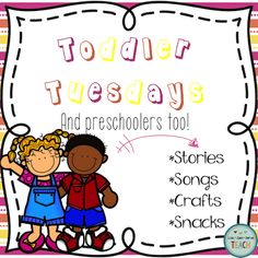 Toddler Tuesdays and Preschoolers Too! ~Chicka Chicka Boom Boom! by Live-Love-Serve-Teach!