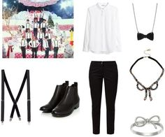 """Outfit inspired by Exo's """"Christmas Day"""""""