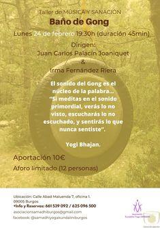 Baño de gong en Burgos Spiritual Messages, Spirituality, Movie Posters, Movies, Words, Films, Film Poster, Spiritual, Cinema