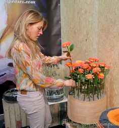 At the stand of VIP Roses, FHTF 2014..